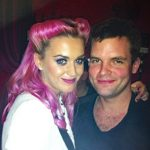 Chris Harding the Paty Magician With Katy Perry